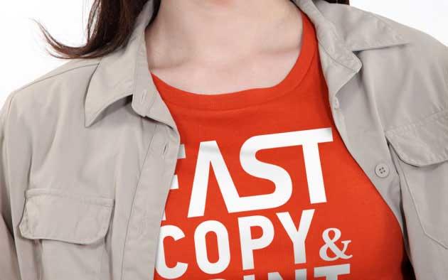 μπλουζάκι με το λογότυπο της εταιρίας σας